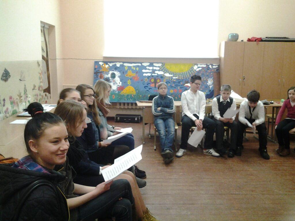 Mokyklos mokiniai lankėsi Vilniaus Jeruzalės mokykloje