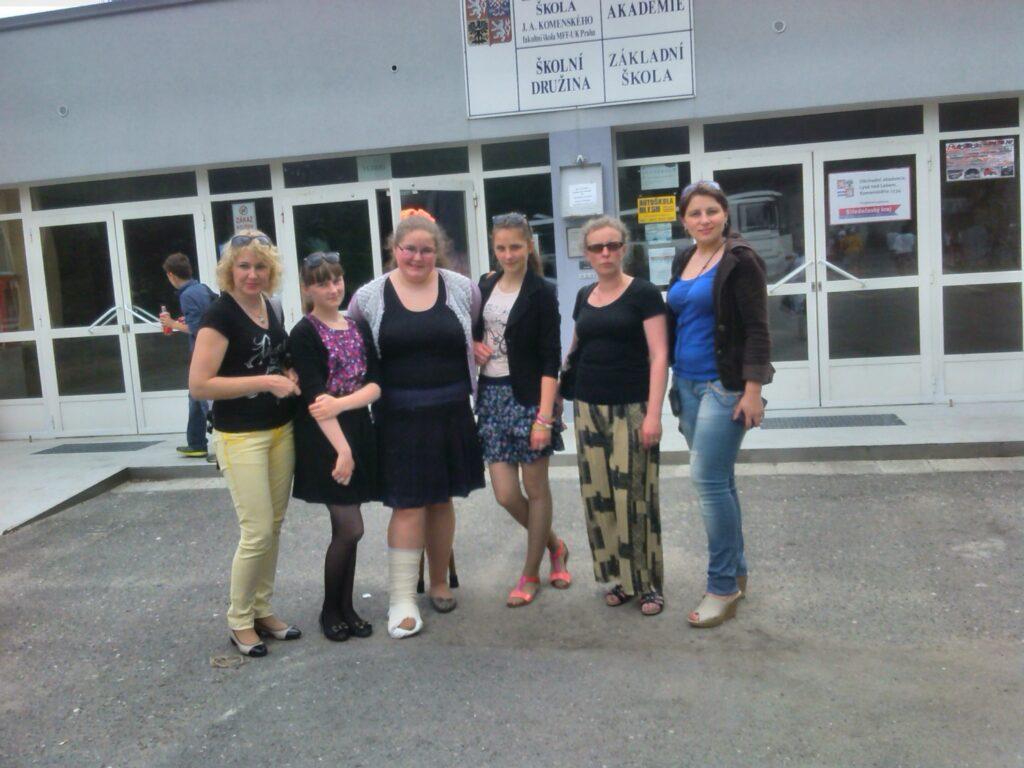 Comenius projekto mobilumas Čekijos Respublikoje