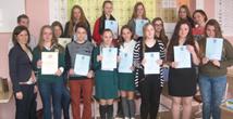 """Mokiniai dalyvavo chemijos ir biologijos konkurse """"Gamtos labirintai"""""""