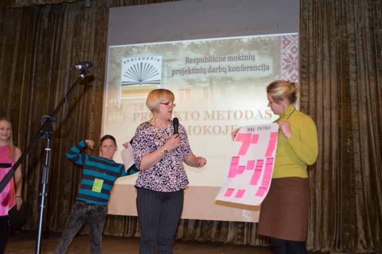 Projekto metodas - tai mokymasis padedantis išmokti praktiškai naudotis žiniomis