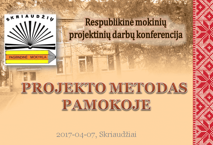 Projekto_metodas