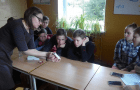 VDU atstovių apsilankymas mokykloje