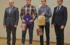 Apdovanoti geriausi mokyklos sportininkai