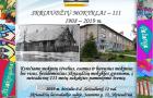Skriaudžių mokyklai – 111