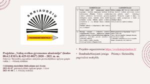 Thumbnail for the post titled: Vaikų sveikos gyvensenos akademija