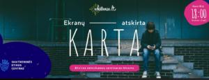 """Thumbnail for the post titled: Kviečiame tėvelius dalyvauti nuotoliniame seminare """"Ekranų atskirta karta"""""""