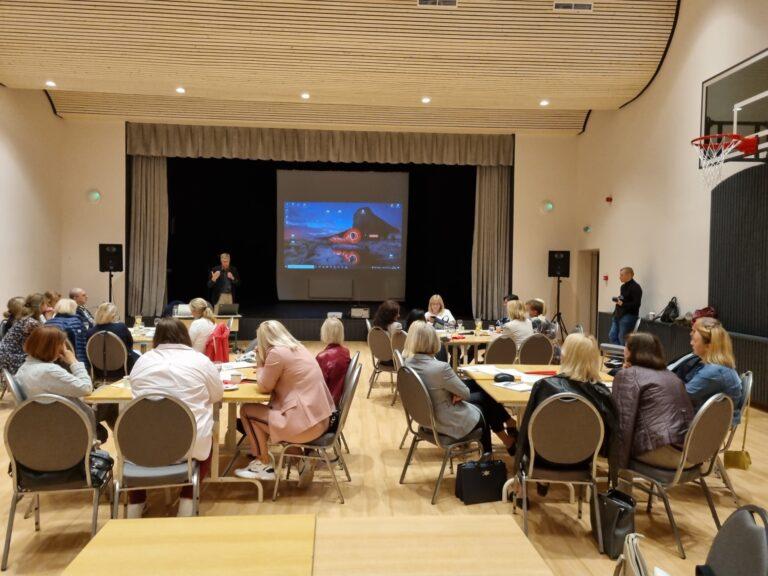 Skriaudžių pagrindinėje mokykloje patirties sėmėsi mokytojai iš Klaipėdos miesto ir rajono mokyklų