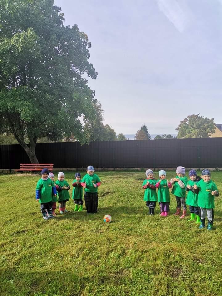 Vaikai juosia Lietuvą olimpiniais žiedais